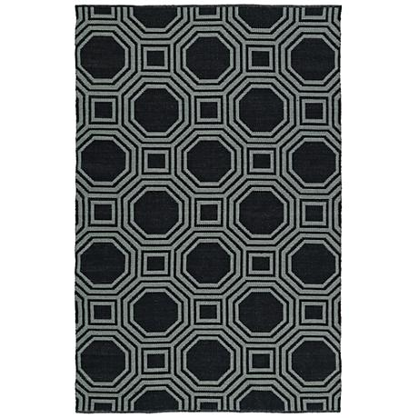 Kaleen Brisa BRI06-02 Black Outdoor Area Rug