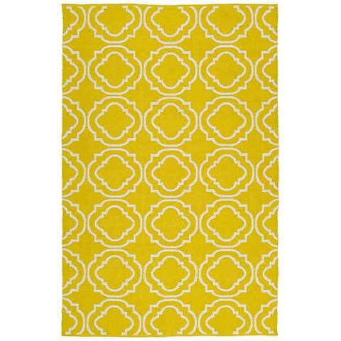 Kaleen Brisa BRI07-28 Yellow Outdoor Area Rug