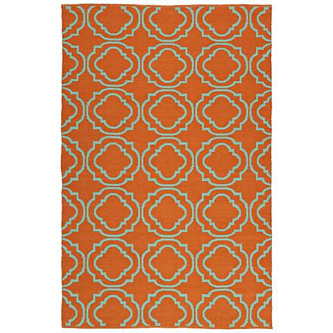 Kaleen Brisa BRI07-89 Orange Outdoor Area Rug
