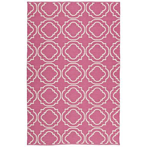 Kaleen Brisa BRI07-92 Pink Outdoor Area Rug