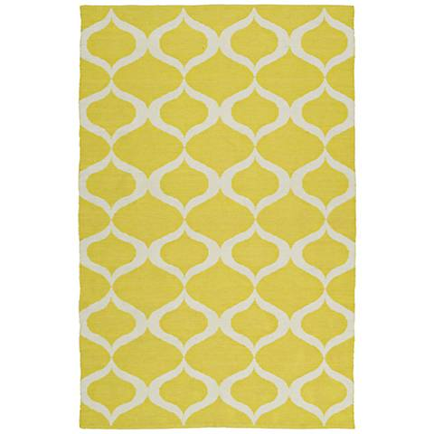 Kaleen Brisa BRI09-28 Yellow Outdoor Area Rug