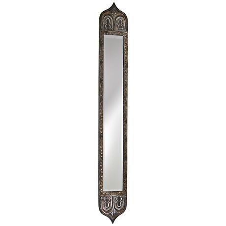 "Cyan Design Skinny Rustic with Verde 8"" x 55"" Wall Mirror"