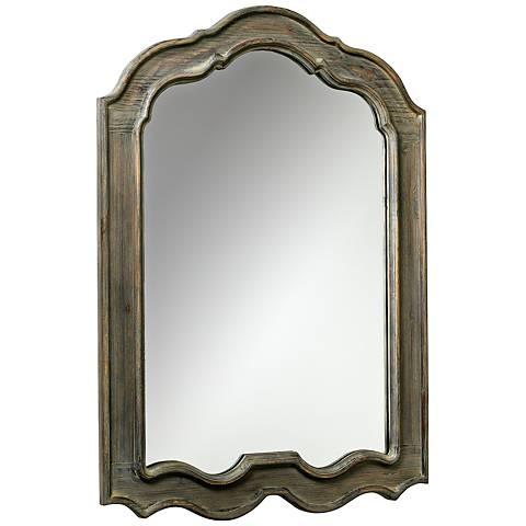 """Cyan Design Kathryn Gray 28 1/2"""" x 39"""" Wall Mirror"""