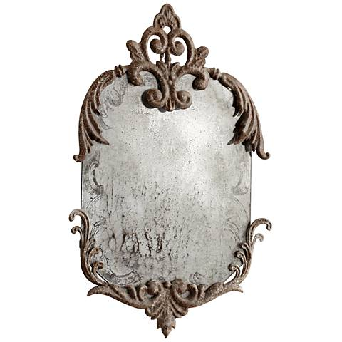 "Cyan Design Findabair Rustic 14 3/4"" x 21 1/2"" Wall Mirror"
