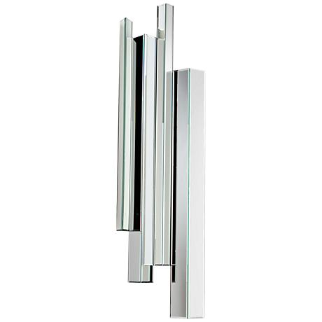 "Cyan Design Skyscraper I Clear 16 1/2"" x 59"" Wall Mirror"