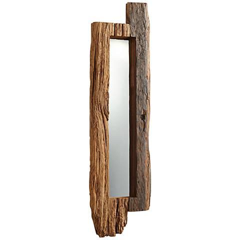 "Cyan Design Jonas Walnut 11 1/4"" x 43"" Wall Mirror"