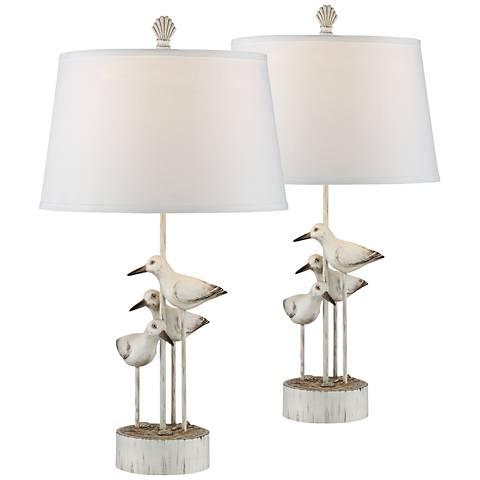 Newstead Sea Birds Table Lamp Set of 2