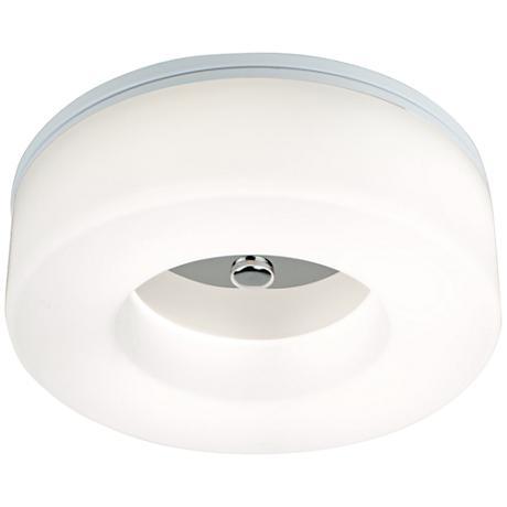 """Balanca 14 1/2"""" Wide Chrome LED Ceiling Light"""