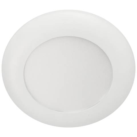 "5/6"" White LED Recessed Retrofit Trim or Surface Mount Light"