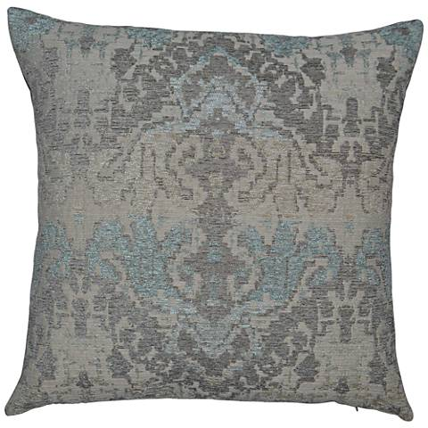 "Collector Mist 24"" Square Decorative Throw Pillow"