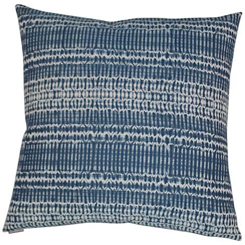 24 Square Throw Pillows : Billie Blue 24