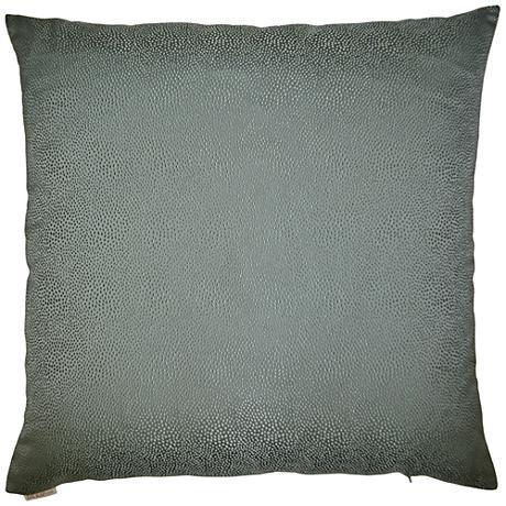 "Siren Spa 24"" Square Decorative Throw Pillow"