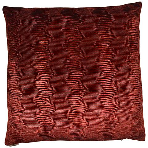 "Waterfalls Brick 24"" Square Decorative Throw Pillow"