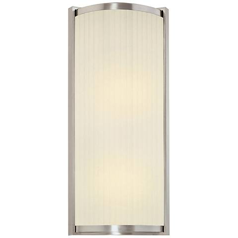 "Sonneman Roxy 17 1/2"" High Satin Nickel Wall Sconce"