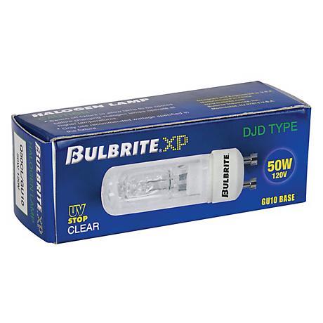 Bulbrite XP 50 Watt Clear GU-10 Light Bulb