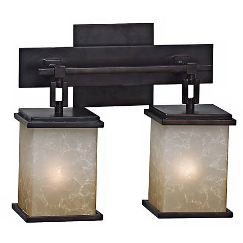 Corteo Collection Two Light Bath Light Fixture