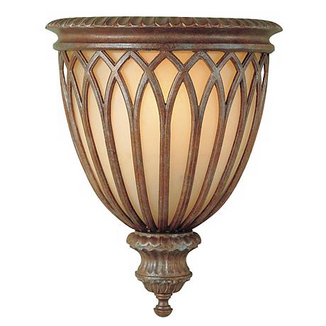 "Feiss Stirling Castle 14"" High Wall Sconce Fixture"