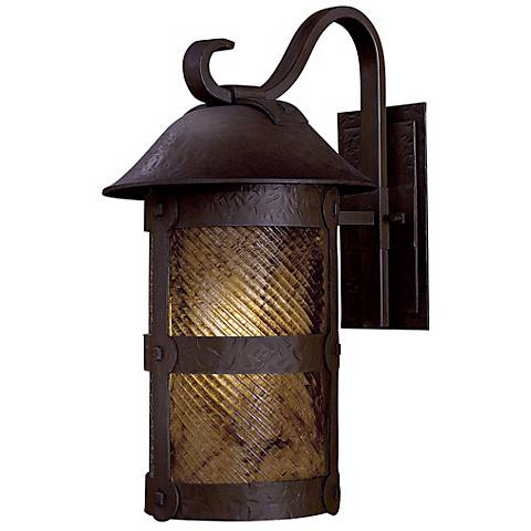 "Lander Heights 21 1/2"" Bronze Outdoor Wall Light"