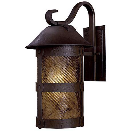 "Lander Heights 21 1/2"" Bronze Outdoor Wall Light"
