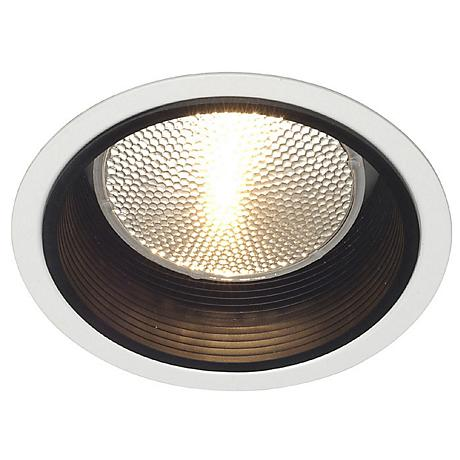 "Lightolier 5"" Line Voltage Black Baffle Recessed Light Trim"