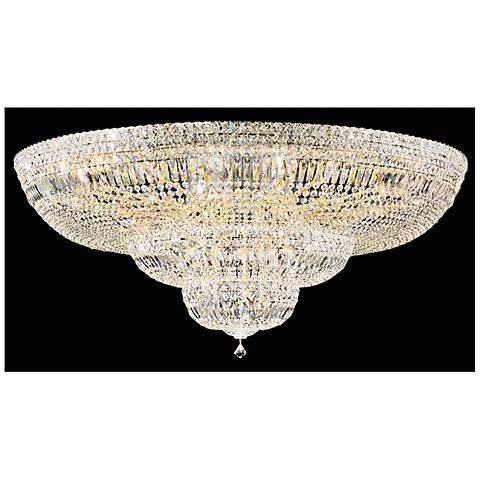 "Schonbek Petit Crystal Deluxe 48""W Aurelia Ceiling light"