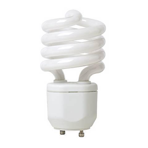 18 Watt GU24 Base CFL Light Bulb