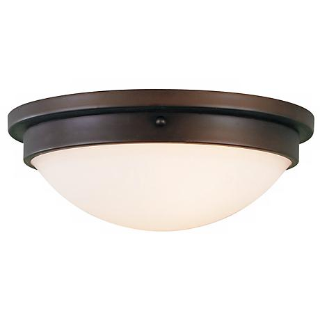 """Feiss Boulevard Collection 15"""" Wide Ceiling Light Fixture"""