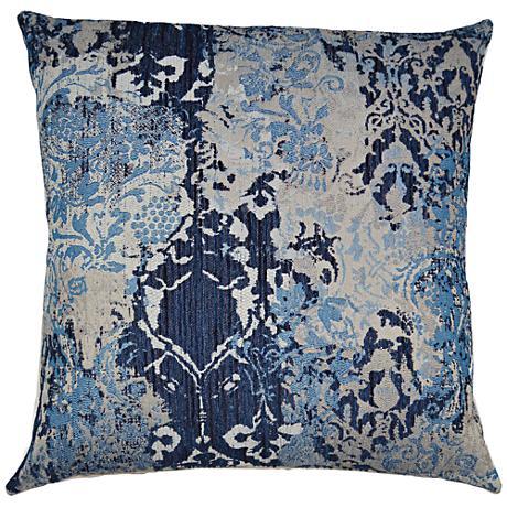24 Square Throw Pillows : Davola Blueberry 24