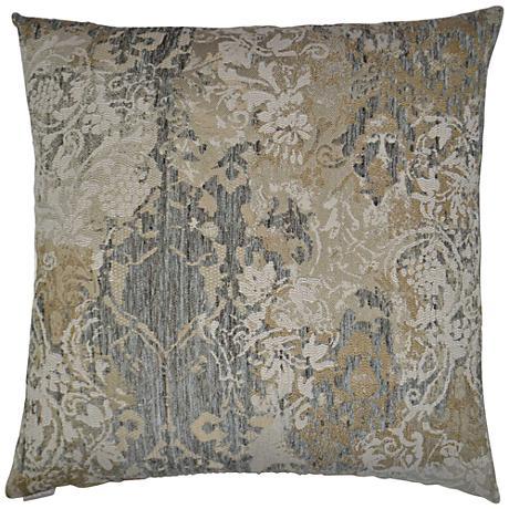"""Davola Cobblestone 24"""" Square Decorative Throw Pillow"""