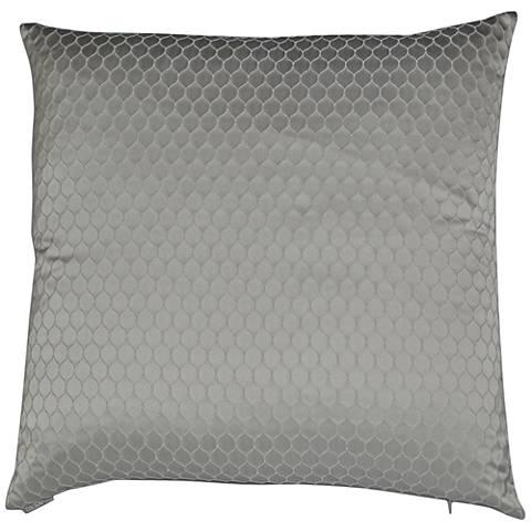 "Ariel Dove 24"" Square Decorative Throw Pillow"