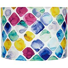 Colored Lamp Shades multi-color, lamp shades | lamps plus