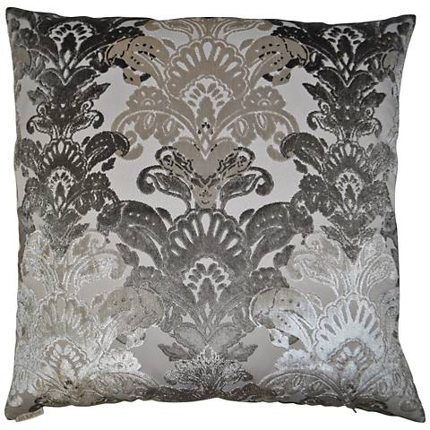 24 Square Throw Pillows : Schubert Platinum 24