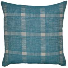 """Checkmate Turquoise 24"""" Square Decorative Throw Pillow"""