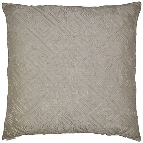 "Columbia Linen 24"" Square Decorative Throw Pillow"