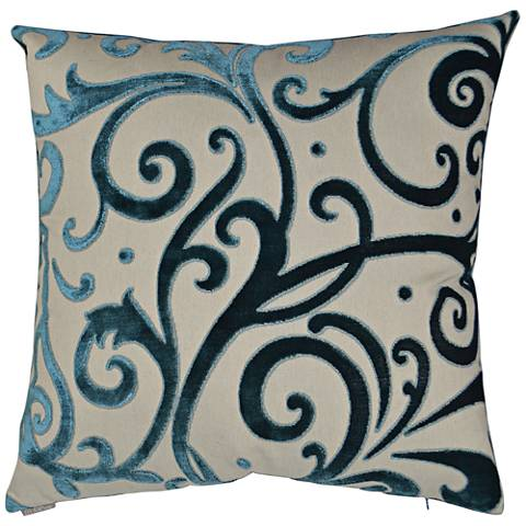 "Jubilee Laguna 24"" Square Decorative Throw Pillow"