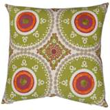"Guido Lime 24"" Square Decorative Throw Pillow"