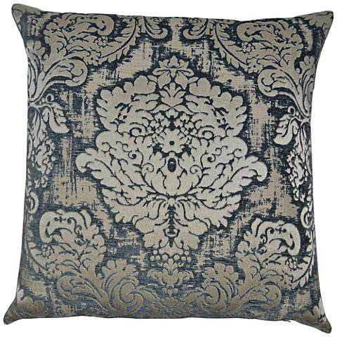"Shelby Mist 24"" Square Decorative Throw Pillow"