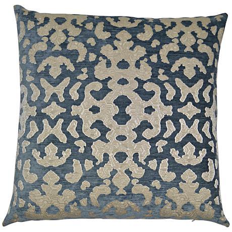 "Foppa Mist 24"" Square Decorative Throw Pillow"