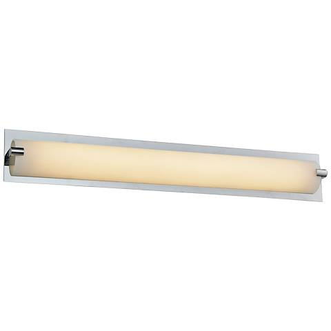 """Avenue Cermack St. 15 1/2""""W Polished Chrome LED Bath Light"""
