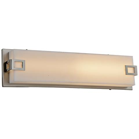 "Avenue Cermack St. 37 1/2""W Brushed Nickel LED Bath Light"