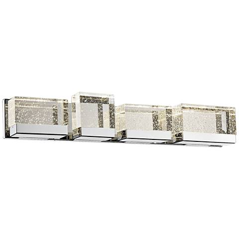 "Avenue Glacier Ave. 36"" Wide Polished Nickel LED Bath Light"