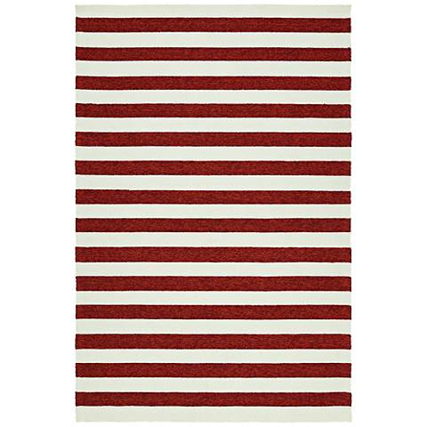 Kaleen Escape ESC03-25 Red Outdoor Area Rug