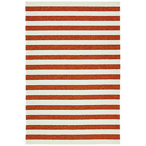 Kaleen Escape ESC03-53 Paprika Outdoor Area Rug