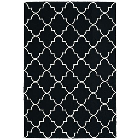 Kaleen Escape ESC09-02 Black Outdoor Area Rug
