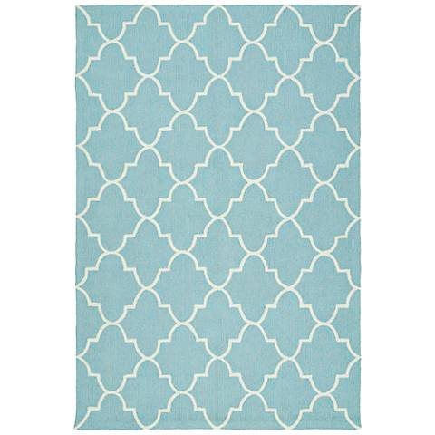 Kaleen Escape ESC09-17 Blue Outdoor Area Rug