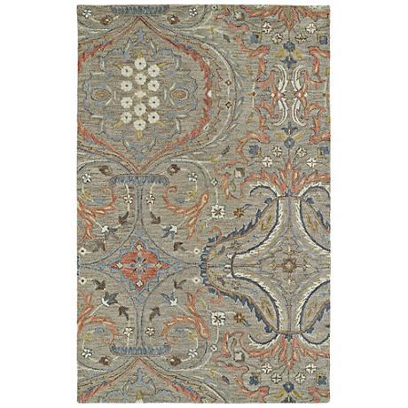 Kaleen Helena 3206-27 Taupe Wool Area Rug