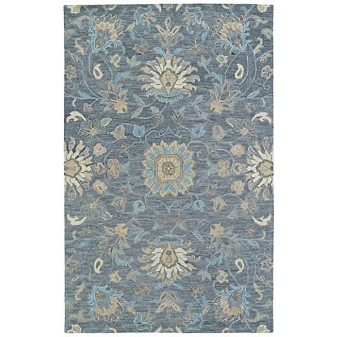 Kaleen Helena 3207-68 Graphite Wool Area Rug