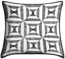 """Tile Illusion 18"""" Square Throw Pillow"""