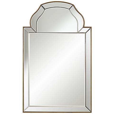 "Hana Antique Gold 26"" x 42"" Wall Mirror"
