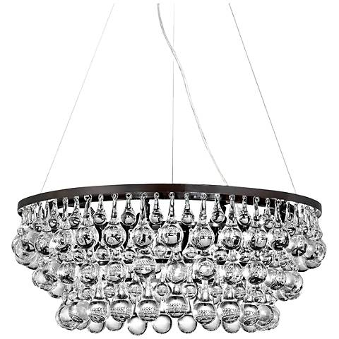 "Eurofase Canto 24 1/2""W Oil Rubbed Bronze 8-Light Chandelier"